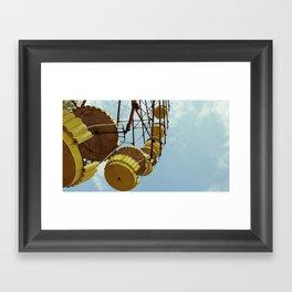 Chernobyl - колесо огляду Framed Art Print