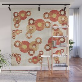 The past age of vinyl records. Wall Mural