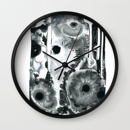 Polar Minimalism 3 Wall Clock