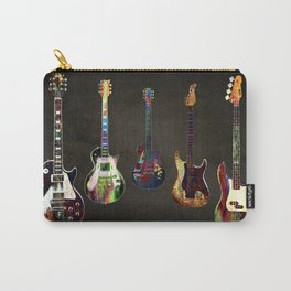 Sounds of music. Guitars. Carry-All Pouch