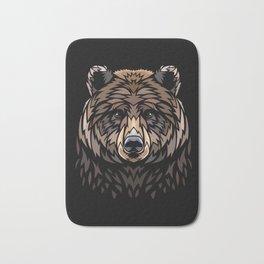 Tribal Bear Bath Mat