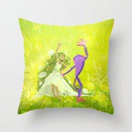 Thumbelina! Throw Pillow