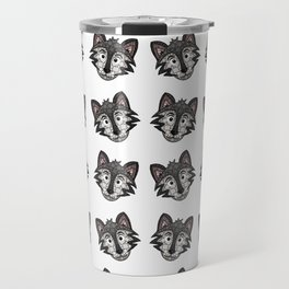 Howl You Doin'? - Cute Wolf - Puppy - 57 Montgomery Ave Travel Mug