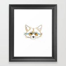 Foxee Framed Art Print