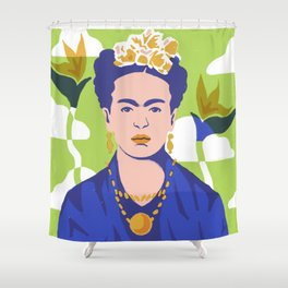 Frida Life Shower Curtain