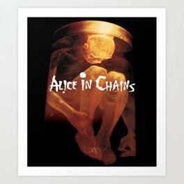 alice in chains nothing safe Art Print