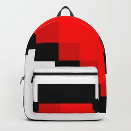 Game life retro heart Backpack