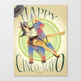 HAPPY CINCO! Canvas Print
