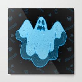 Haunted -Ghost ony Metal Print