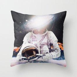 Mr. Galaxy Throw Pillow