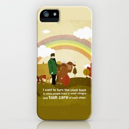 Small village 1 iPhone Case