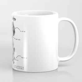 E is for English Setter Coffee Mug