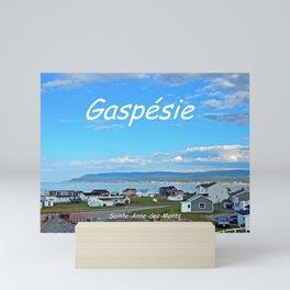 Sainte-Anne-des-Monts, Gaspésie Mini Art Print