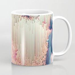 Fairyland - Abstract Glitchy Pixel Art Coffee Mug