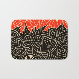 - fall : a red storm and the sea - Bath Mat