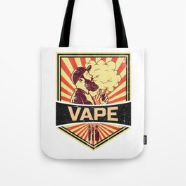 Vape Propaganda | Vaper Vaping E-Cigarette Tote Bag