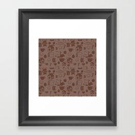 SHANHAIJING-BreadBear-HAI (GoodMorningHAI) Framed Art Print