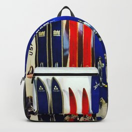 Vintage Ski Collection Backpack