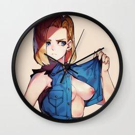 Dragon Ball Hentai Wall Clock