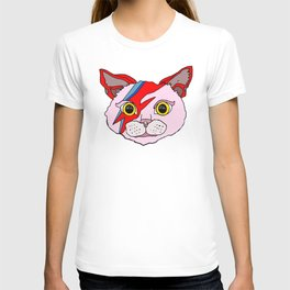 Heroes Cat Head T-shirt