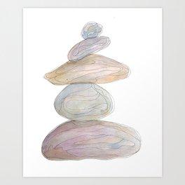 Cairn 7 Art Print