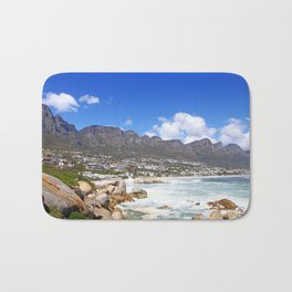 Lovely Cape Town, South Africa Bath Mat