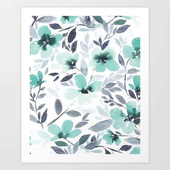 Espirit Mint  Art Print