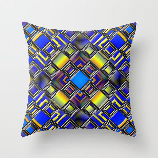 Diamond Graphix Throw Pillow