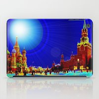 moscow iPad Cases featuring Moscow by JT Digital Art