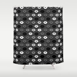Dark Kiss Shower Curtain