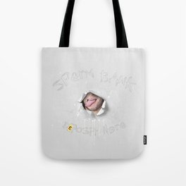 Sperm Bank (NSFW) Tote Bag