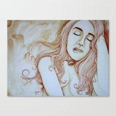 I am here Canvas Print