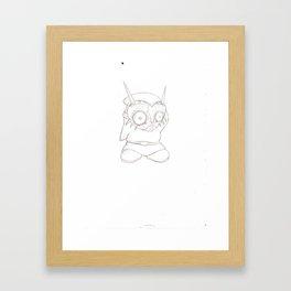 Crossover - Majora's Maskass Framed Art Print