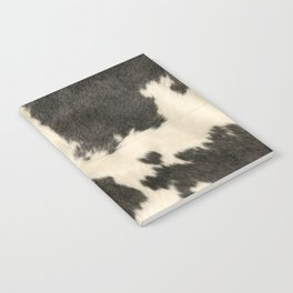 Black & White Cow Hide Notebook