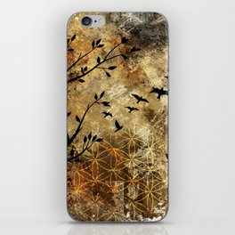 Life In Midst Of Chaos iPhone Skin