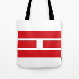 i Ching red lines Tote Bag