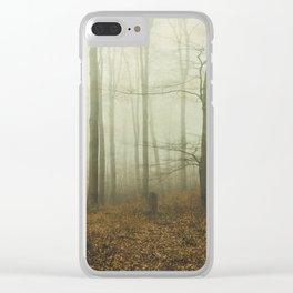 the forest i call home Clear iPhone Case