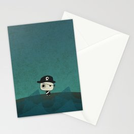 Small Pirate Captain Stationery Cards