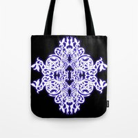 gothic Tote Bags featuring Gothic  by pwrighteous