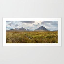 Glencoe, Scottish Highlands Art Print
