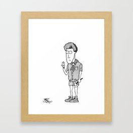 Eagle Scout Framed Art Print