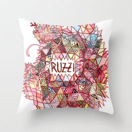 Ruzzi # 001 Throw Pillow
