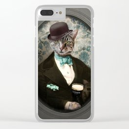 Lovely Day for a Guinness Clear iPhone Case