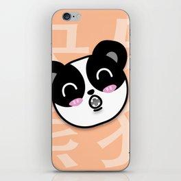 Happy Panda iPhone Skin
