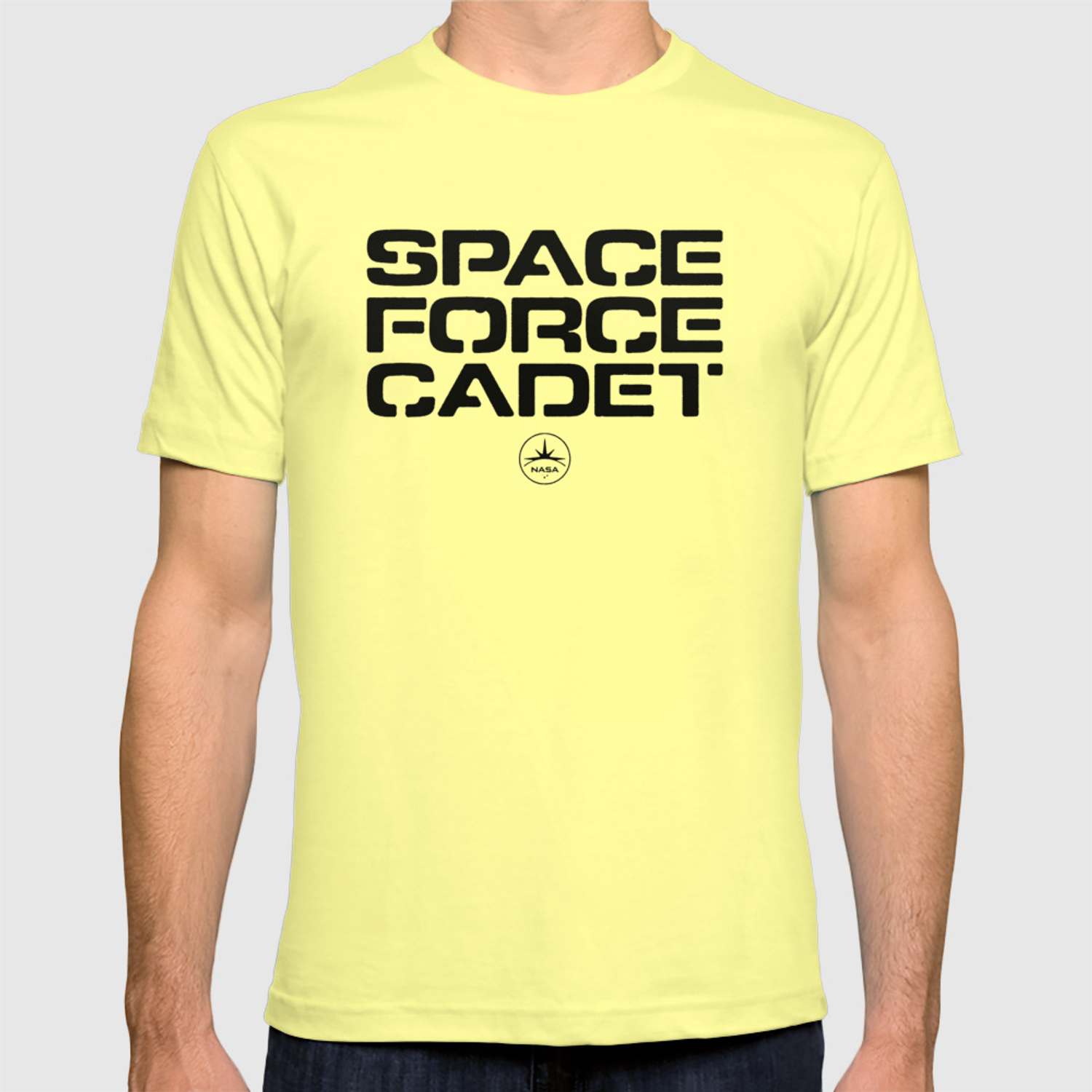 62bbf5d3bd Space Force T-shirt by anyonestudio | Society6
