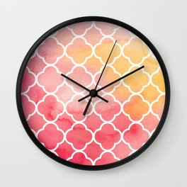 Oriental pattern Wall Clock