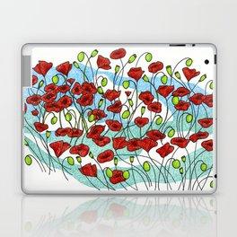 Field Poppies Laptop & iPad Skin