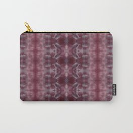 Shades of Wine Shibori Carry-All Pouch