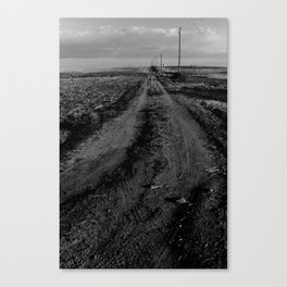 Where this road leads, nobody knows. Canvas Print