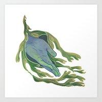 let it go Art Prints featuring Let Go by Rhea Ewing